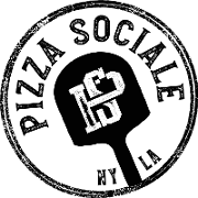 This is the restaurant logo for Pizza Sociale