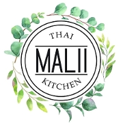 This is the restaurant logo for Malii Thai Kitchen