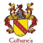 This is the restaurant logo for Culhane's Irish Pub