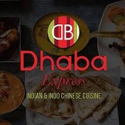 This is the restaurant logo for Dhaba Express