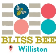 This is the restaurant logo for Bliss Bee WILLISTON
