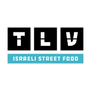 This is the restaurant logo for TLV