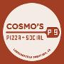 Restaurant logo for Cosmo's Pizza + Social