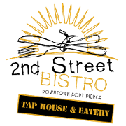 This is the restaurant logo for 2nd Street Bistro