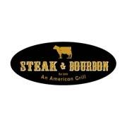 This is the restaurant logo for Steak & Bourbon