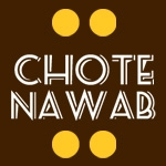 This is the restaurant logo for Chote Nawab