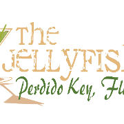 This is the restaurant logo for The Jellyfish Restaurant & Bar