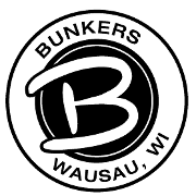 This is the restaurant logo for Bunkers at Tribute Golf Course