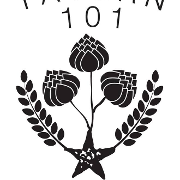 This is the restaurant logo for Tavern 101