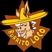 This is the restaurant logo for Burrito Loco
