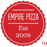 This is the restaurant logo for Empire Pizza