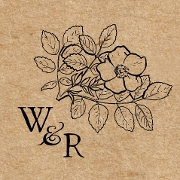 This is the restaurant logo for Wesley & Rose