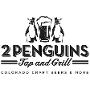 Restaurant logo for 2 Penguins Tap & Grill