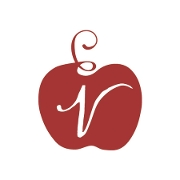 This is the restaurant logo for Virtue Cider Farm
