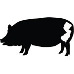 This is the restaurant logo for Local Smoke BBQ