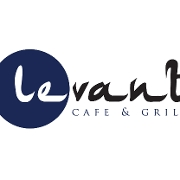 This is the restaurant logo for Levant Cafe & Grill