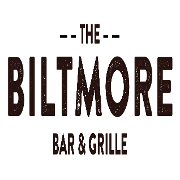This is the restaurant logo for The Biltmore Bar & Grille