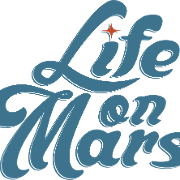 This is the restaurant logo for Life On Mars