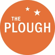 This is the restaurant logo for The Plough & the Stars