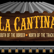 This is the restaurant logo for La Cantina