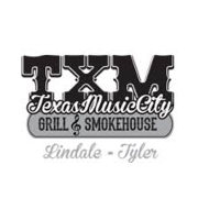 This is the restaurant logo for Texas Music City Grill & Smokehouse