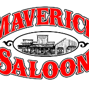 This is the restaurant logo for Maverick Saloon