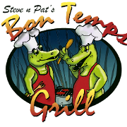 This is the restaurant logo for Bon Temps Grill
