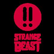 This is the restaurant logo for Strange Beast