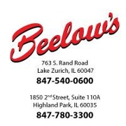This is the restaurant logo for Beelow's Steakhouse