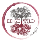 This is the restaurant logo for EdgeWild Restaurant & Winery