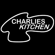 This is the restaurant logo for Charlie's Kitchen