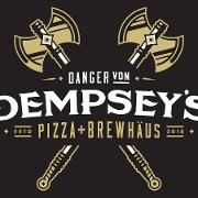 This is the restaurant logo for Danger von Dempsey's