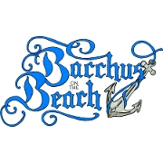 This is the restaurant logo for Bacchus On The Beach