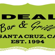 This is the restaurant logo for Ideal Bar & Grill