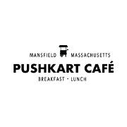 This is the restaurant logo for Pushkart Café