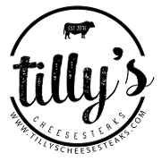 This is the restaurant logo for Tilly's Cheesesteaks