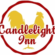 This is the restaurant logo for Candlelight Inn