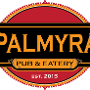 Restaurant logo for Palmyra Pub and Eatery