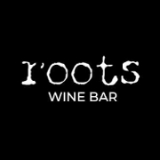 This is the restaurant logo for Roots Wine Bar