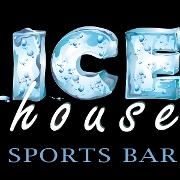 This is the restaurant logo for Ice House Sports Bar