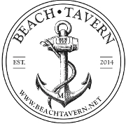 This is the restaurant logo for Beach Tavern