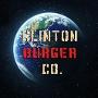 Restaurant logo for Clinton Burger Co.