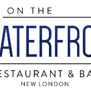 This is the restaurant logo for On the Waterfront
