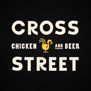 This is the restaurant logo for Cross Street
