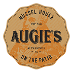 This is the restaurant logo for Augie's Mussel House & Patio