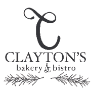 This is the restaurant logo for Clayton's Bakery & Bistro