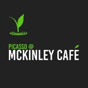 This is the restaurant logo for McKinley Café