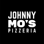 This is the restaurant logo for Johnny Mo's Pizzeria