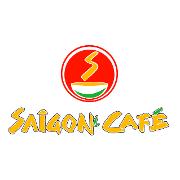 This is the restaurant logo for Saigon Cafe