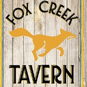 This is the restaurant logo for Fox Creek Tavern
